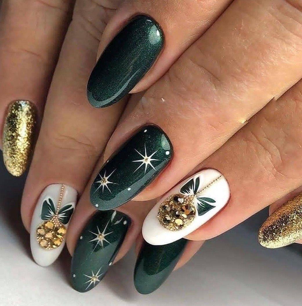 Pin By Alena Kucerova On Idei Dlya Nogtej Green Nail Art Green Nails Coffin Nails Designs