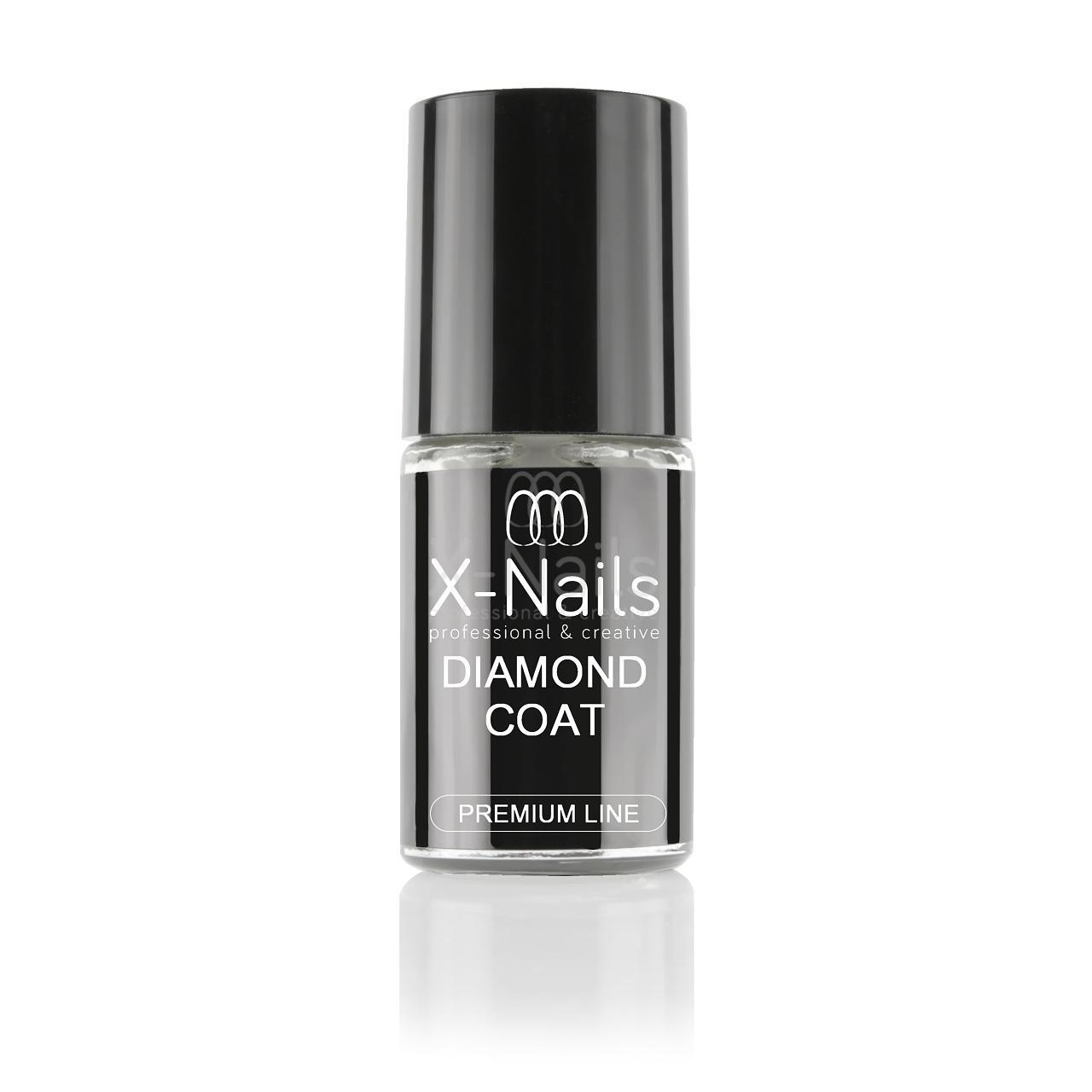 X Nails Zakoncovaci Lak Pro Extra Odolnost 5 Ml Diamond Coat