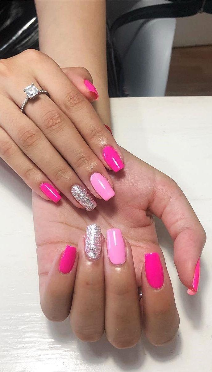 101 Want To See New Nail Art These Nail Designs Are Really Great Nail Designs Valentines Valentine S Day Nail Designs Valentine Nails Pink