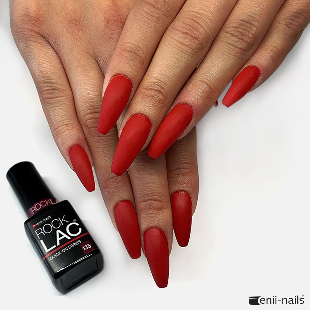 Back To School With Today S Rocklac Inspiration Modeling With Polygel New Rocklac No 135 In Matt Effect Discover Our New Rocklac Colors Https Www En