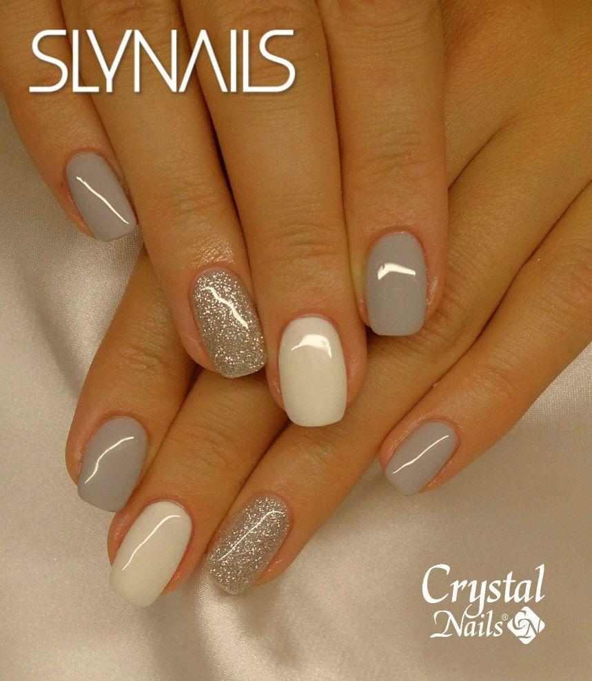 So Pretty Crystal Nails Gel Nails Nails