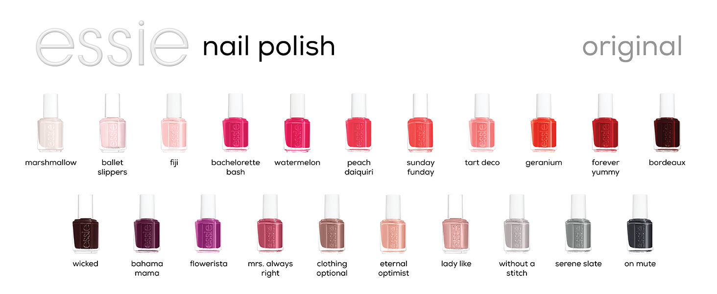 Amazon Com Essie Nail Polish Glossy Shine Finish Ladylike 0 46 Ounces Packaging May Vary Beauty