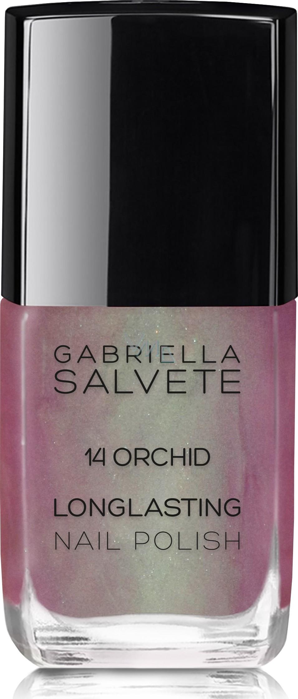 Gabriella Salvete Longlasting Enamel Lak Na Nehty 14 Orchid 11 Ml Vmd Drogerie A Parfumerie