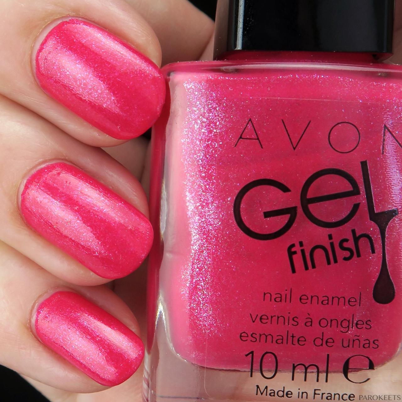 Avon Gel Finish Nail Polishes New 2016 Parokeets