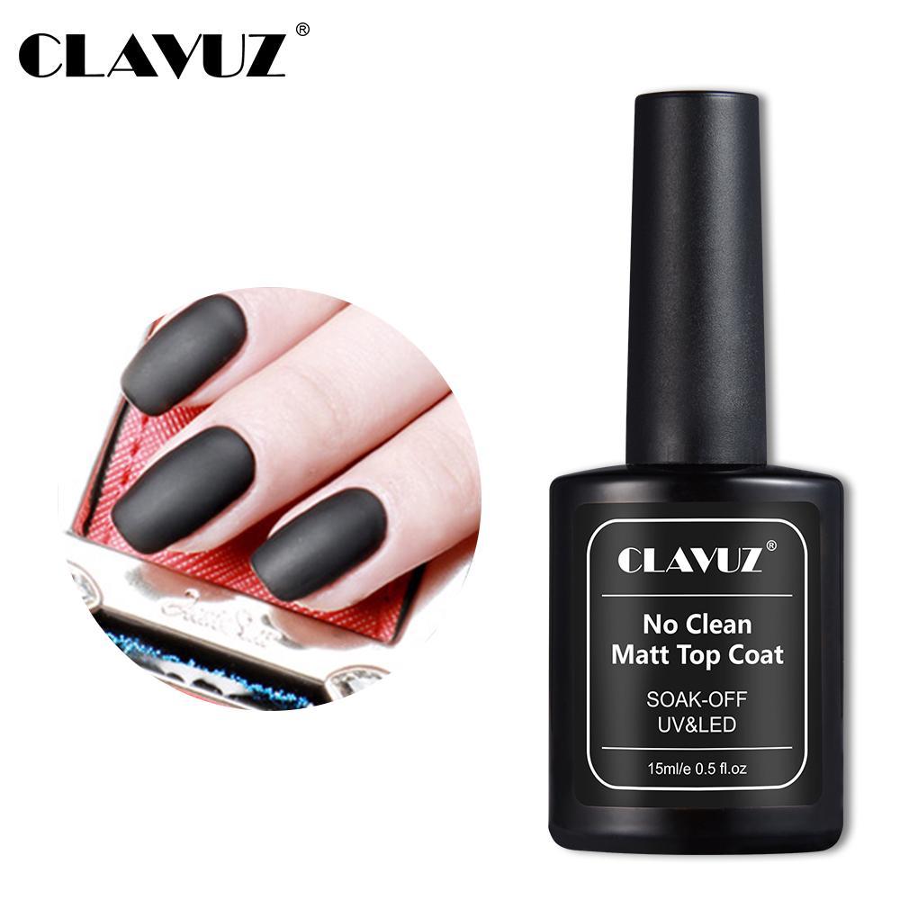 Clavuz 15ml Matte Top Coat Led Uv Gel Nail Polish Soak Off Long Lasting Varnish Buy At A Low Prices On Joom E Commerce Platform