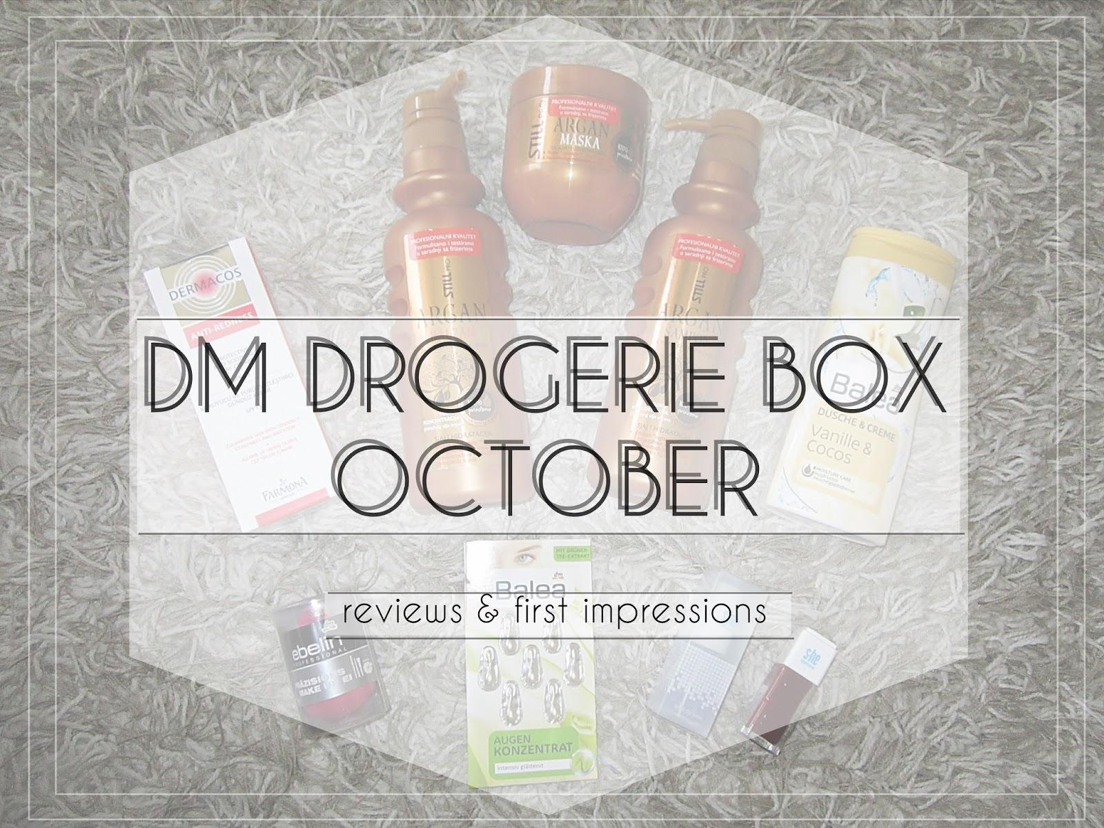 The Glam Monster Dm Drogerie Box October 2015