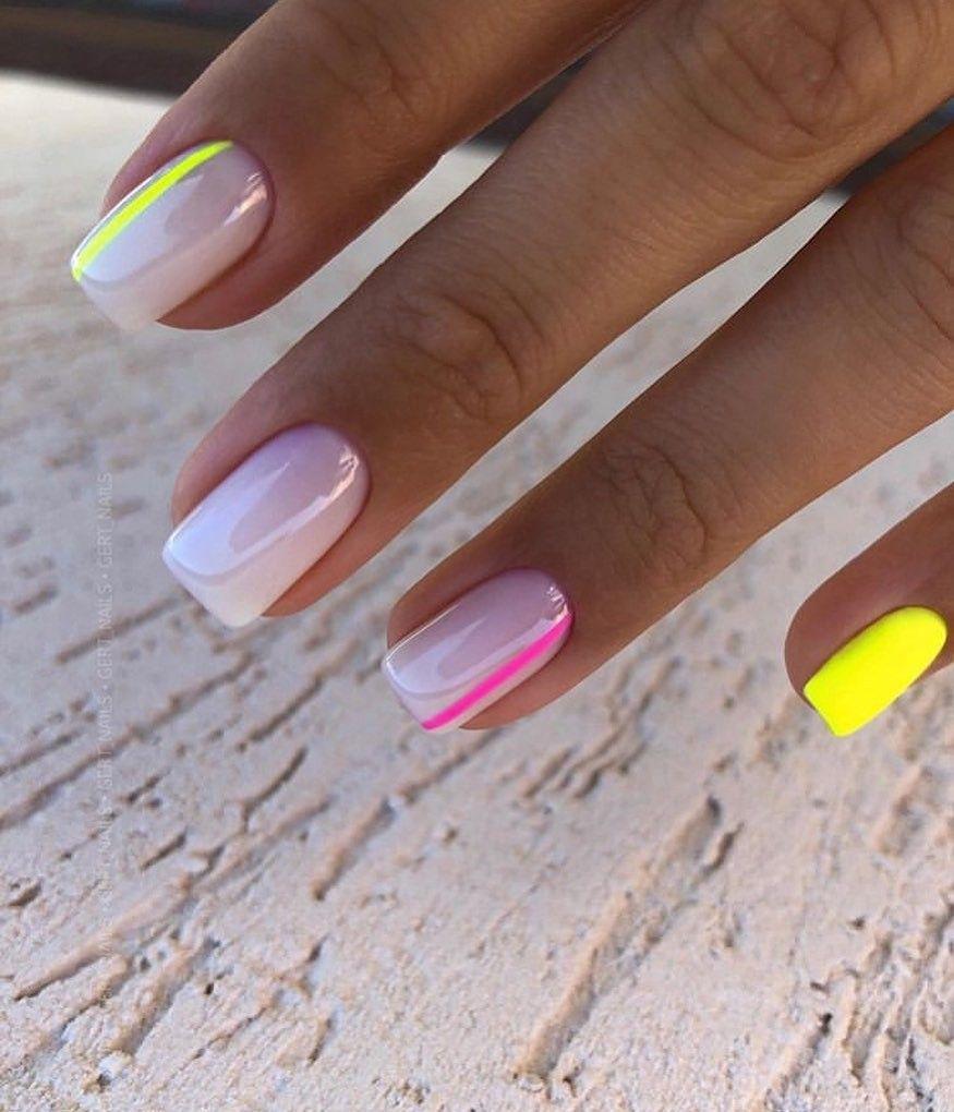 Pin By Jana Barabasova On Manikyur Manicure In 2020 Short Acrylic Nails Chic Nails Heart Nails