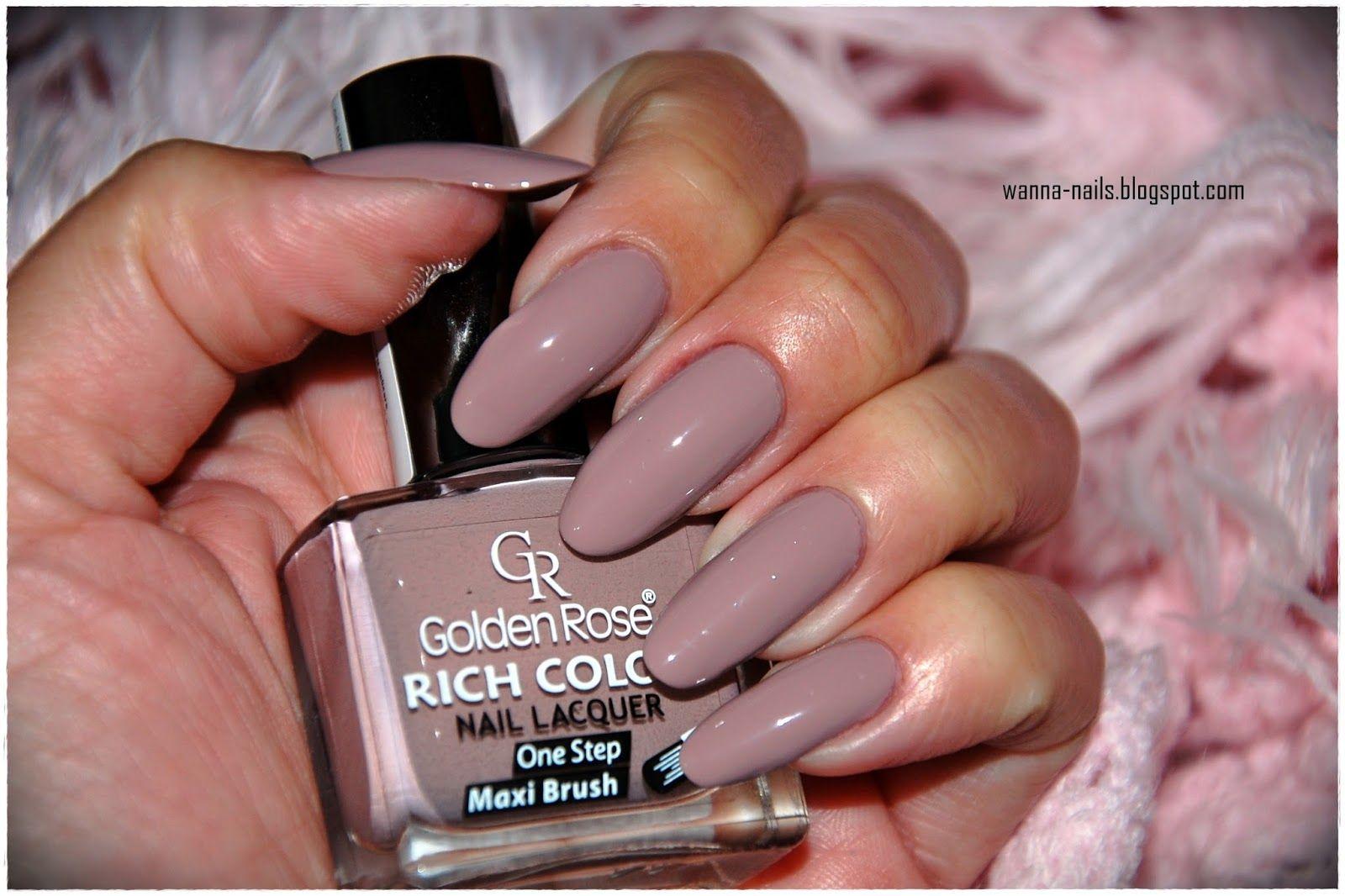Golden Rose Rich Color 05 Wanna See My Nails Kalpli Oje Oje Fikirleri Mucevherli Tirnaklar