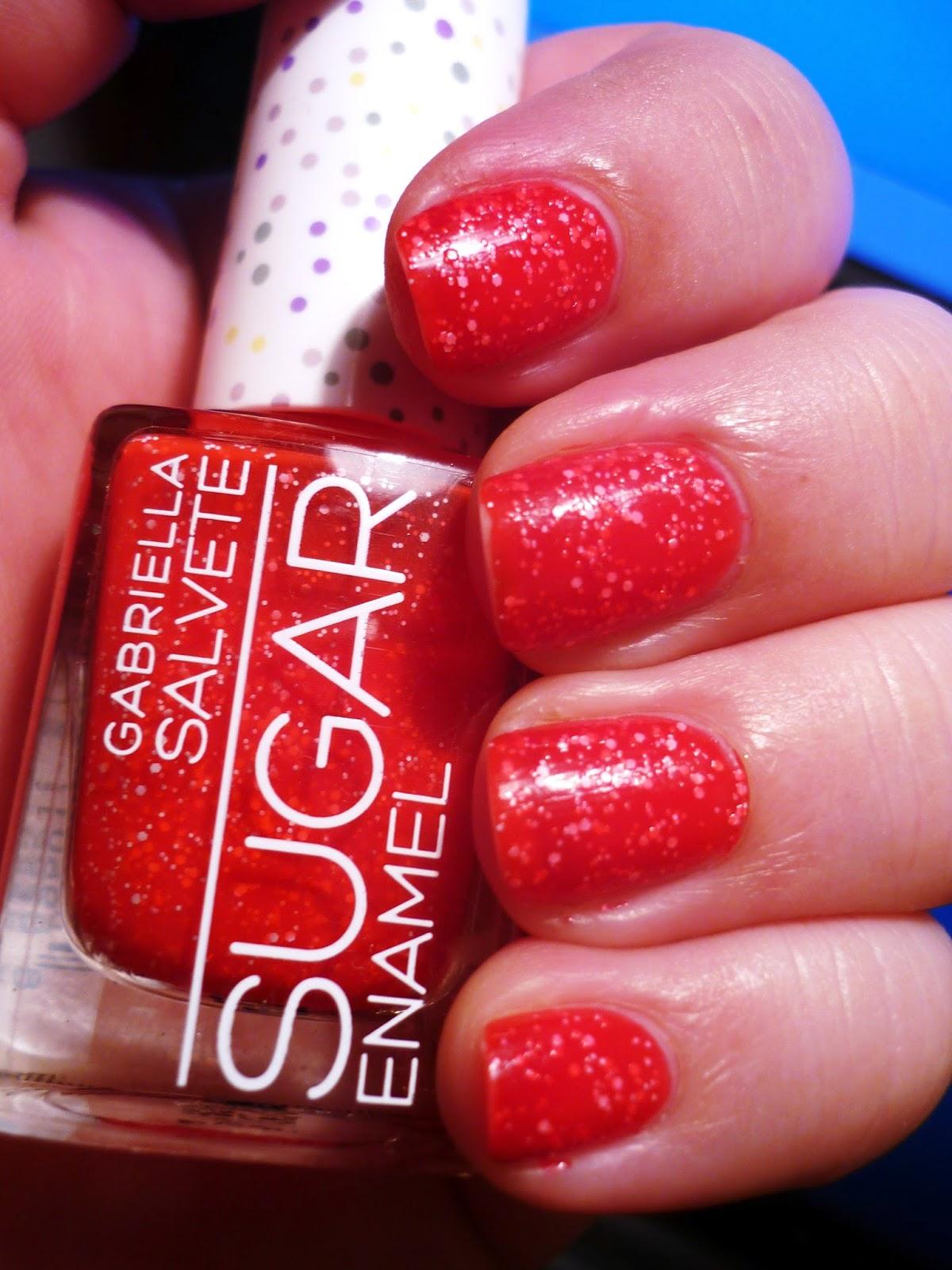Lsg Blog Recenze Lak Na Nehty Sugar Od Gabriella Salvete Odstin 04 Passione