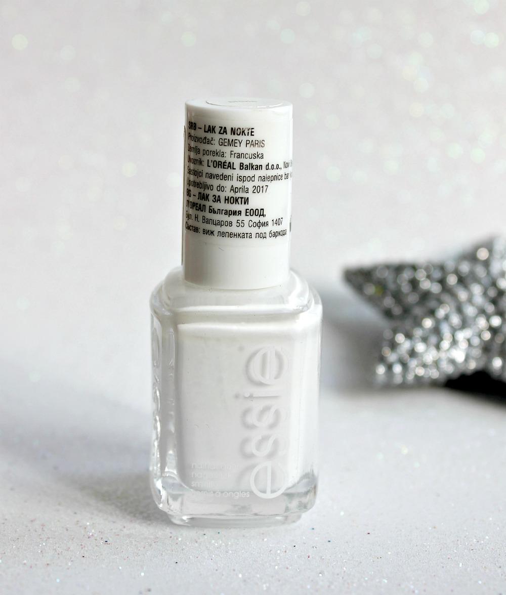 Nokti Essie Blanc Makeup More Sminka I Ostalo