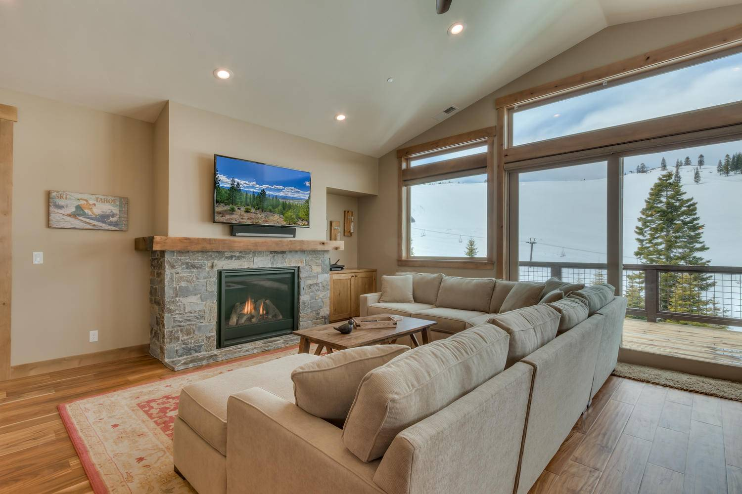 Lake Tahoe Rental Four Seasons Retreat At Tahoe Donner