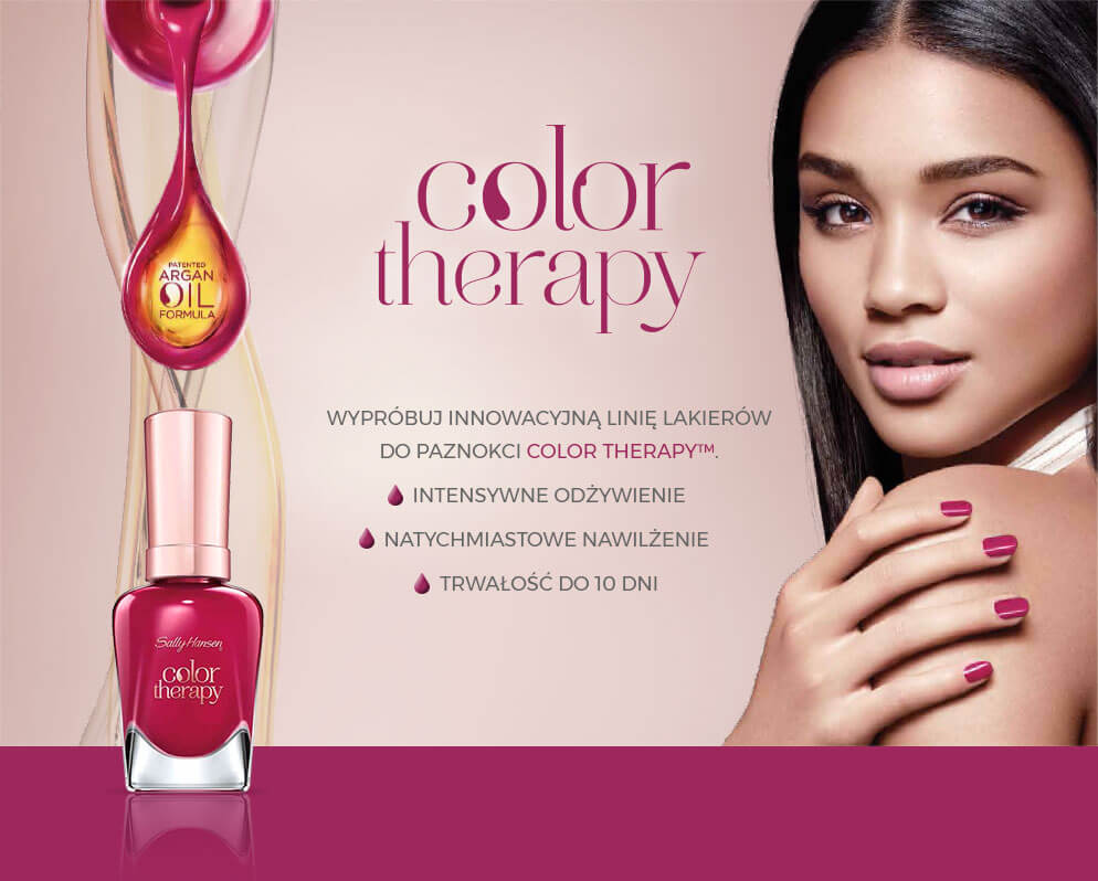 Sally Hansen Color Therapy Trwaly Lakier Do Paznokci Nr 220 Quartz 14 7 Ml Drogeria Rossmann Pl