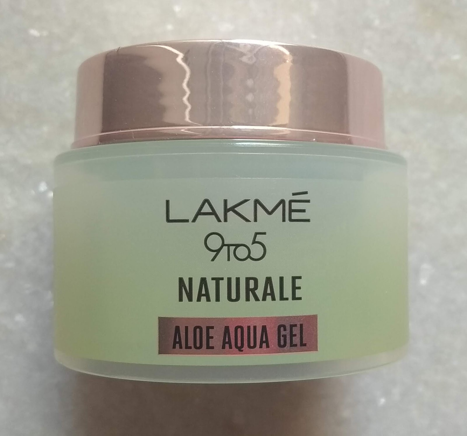 Lakme 9 To 5 Naturale Aloe Aqua Gel Review Peachypinkpretty