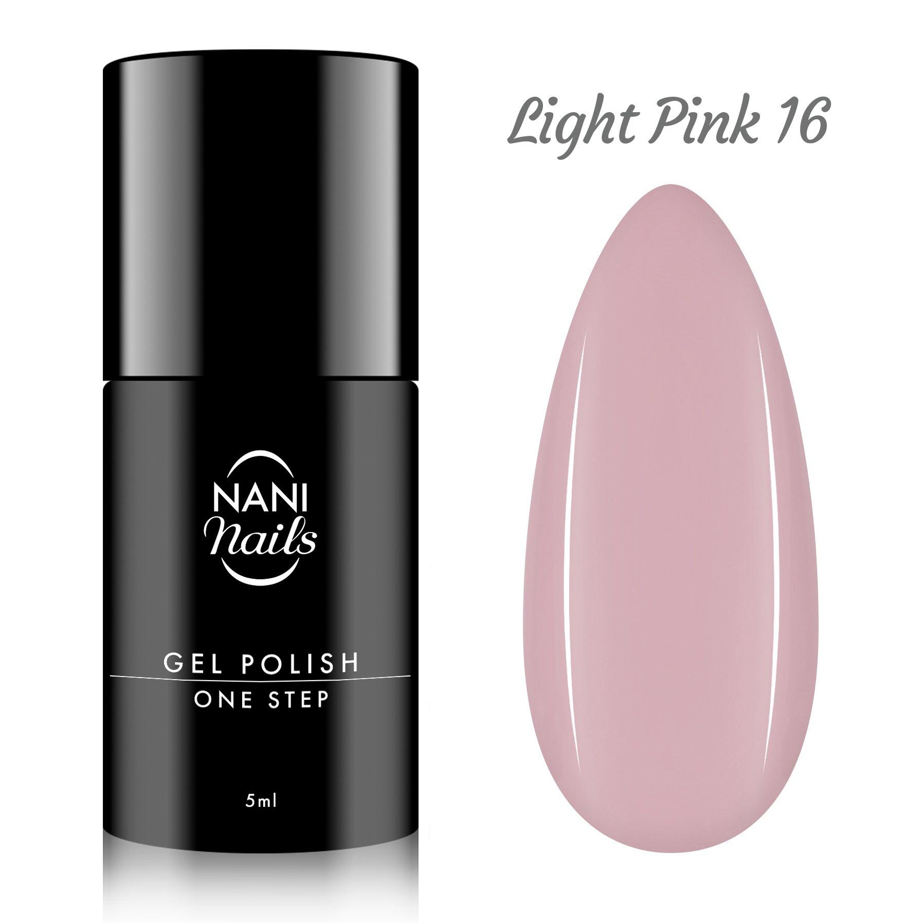 Nani Gel Lak One Step Lux 5 Ml Light Pink Naninails Cz