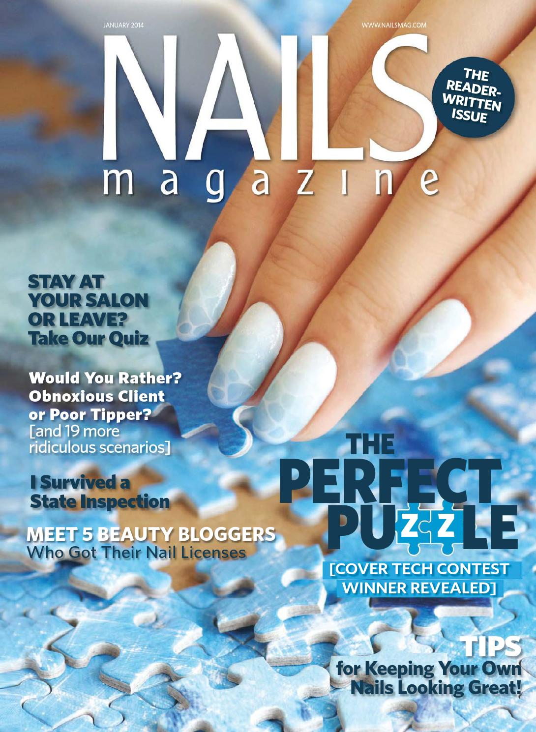 Nails Magazine 2014 01 By Reforma Nails Cz Issuu