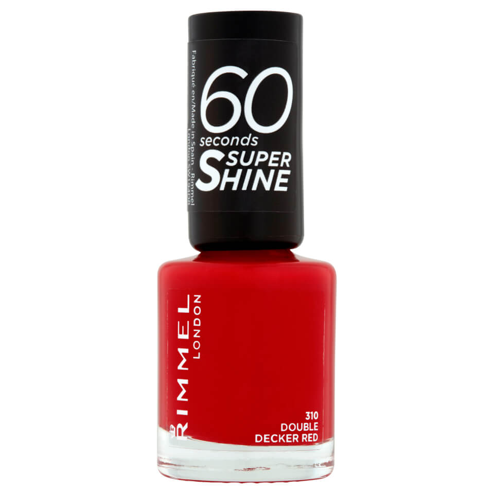 3614220616834 Ean 34778209310 Rimmel 60 Seconds Super Shine Nail Polish 8 Ml Double Decker Red Buycott Upc Lookup