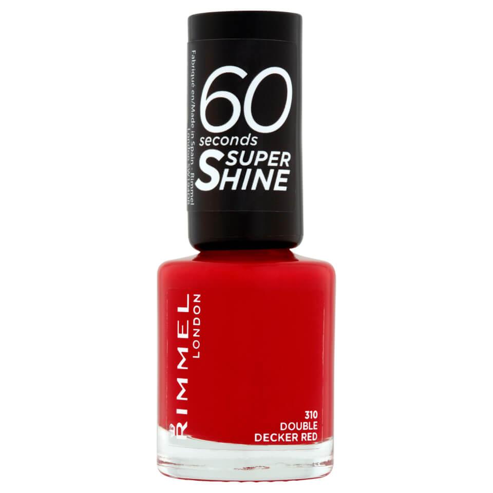 3614220616834 Ean 34778209310 Rimmel 60 Seconds Super Shine Nail Polish 8 Ml Double Decker Red Buycott Upc Lookup