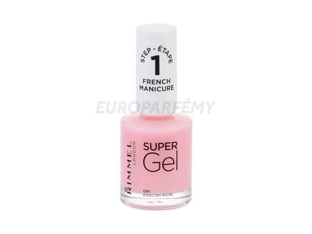 Rimmel London Super Gel French Manicure Step1 Lak Na Nehty Europarfemy Cz