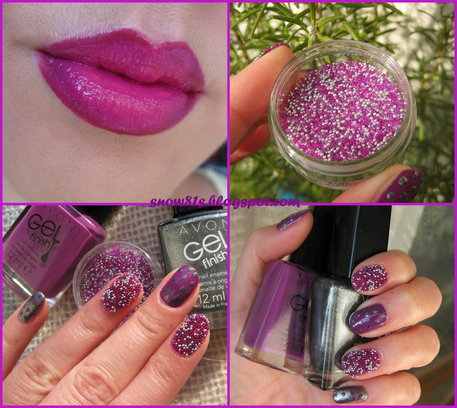 Svecani Manikir I Make Up Sa Avonom Caviar Nails Ombre Lips Snow White S Beauty Case Bloglovin