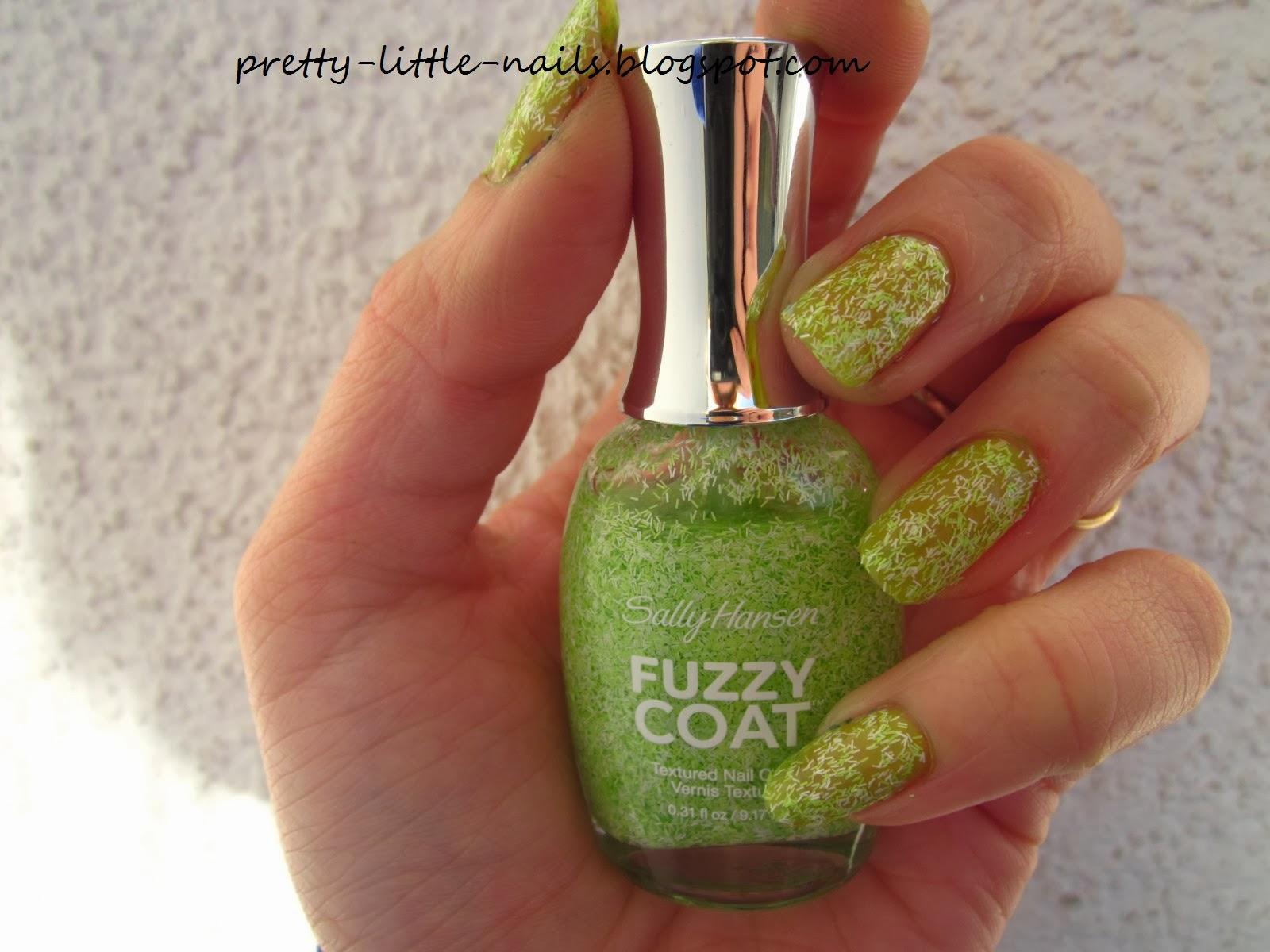 Pretty Little Nails Sally Hansen Fuzzy Coat 600 Fuzzy Fantasy