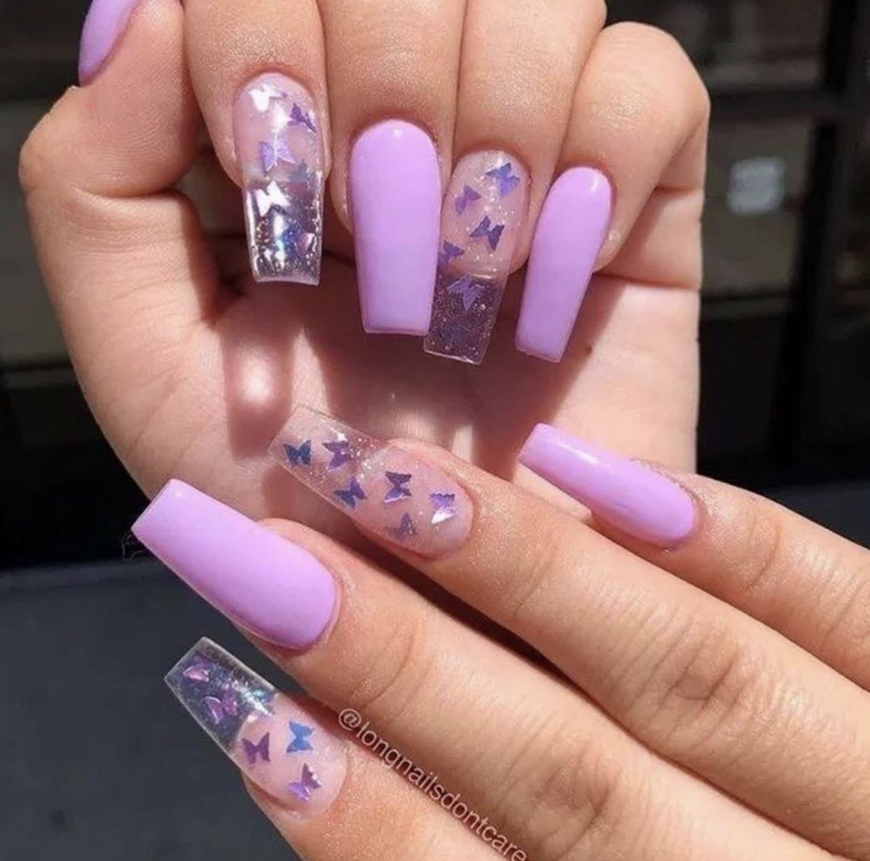 Pin By Sarah Sultan On Nails Purple Acrylic Nails Long Square Acrylic Nails Green Acrylic Nails