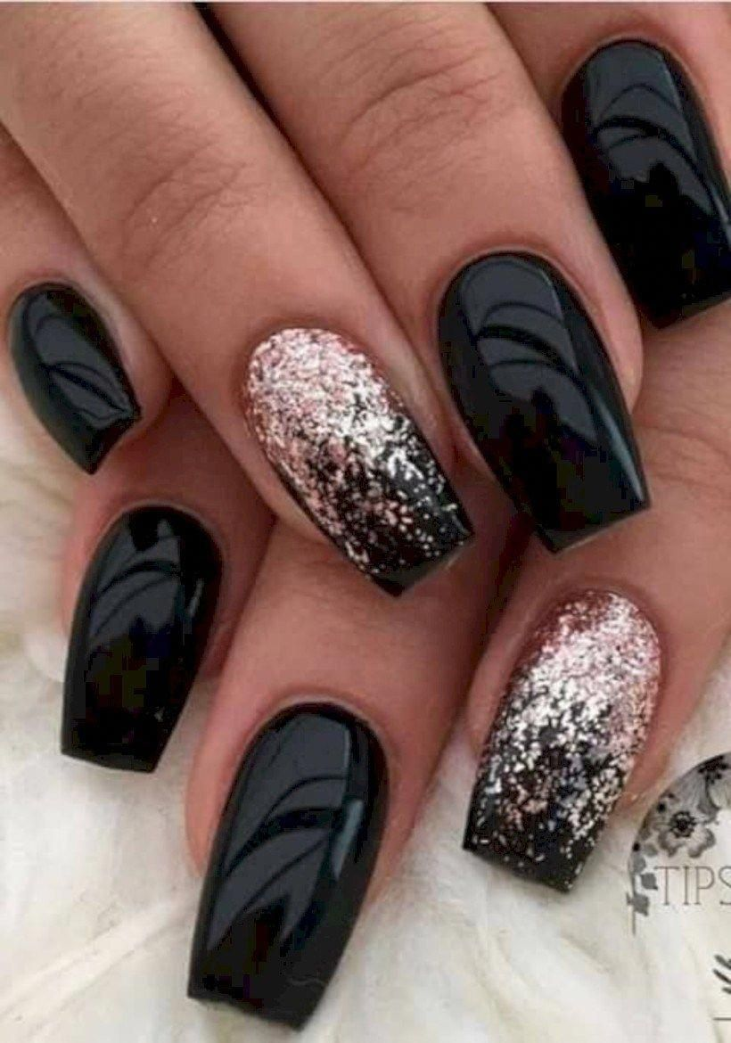 Pretty Winter Nails Art Design Inspirations 26 Bestpics Nail Art Gelove Nehty Design Nehtu