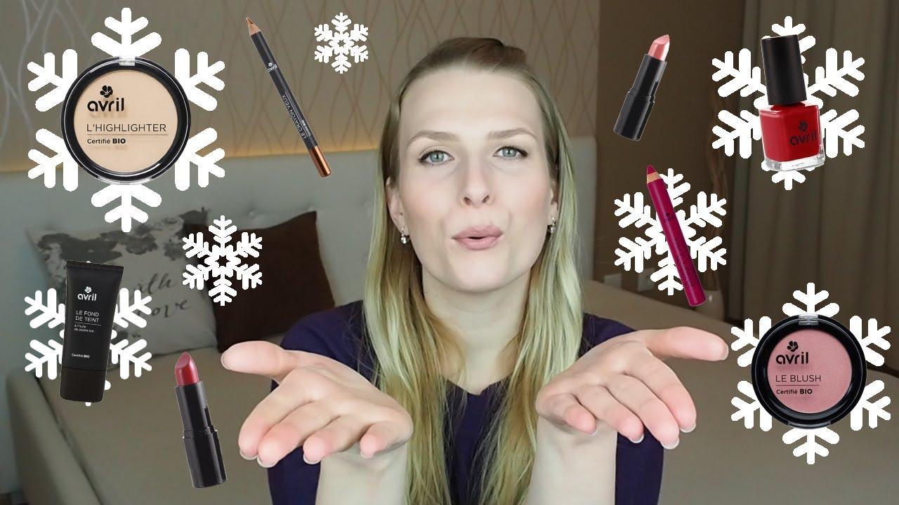 Avril Cosmetics Recenze Produktu Bio Francouzske Dekorativni Kosmetiky Youtube