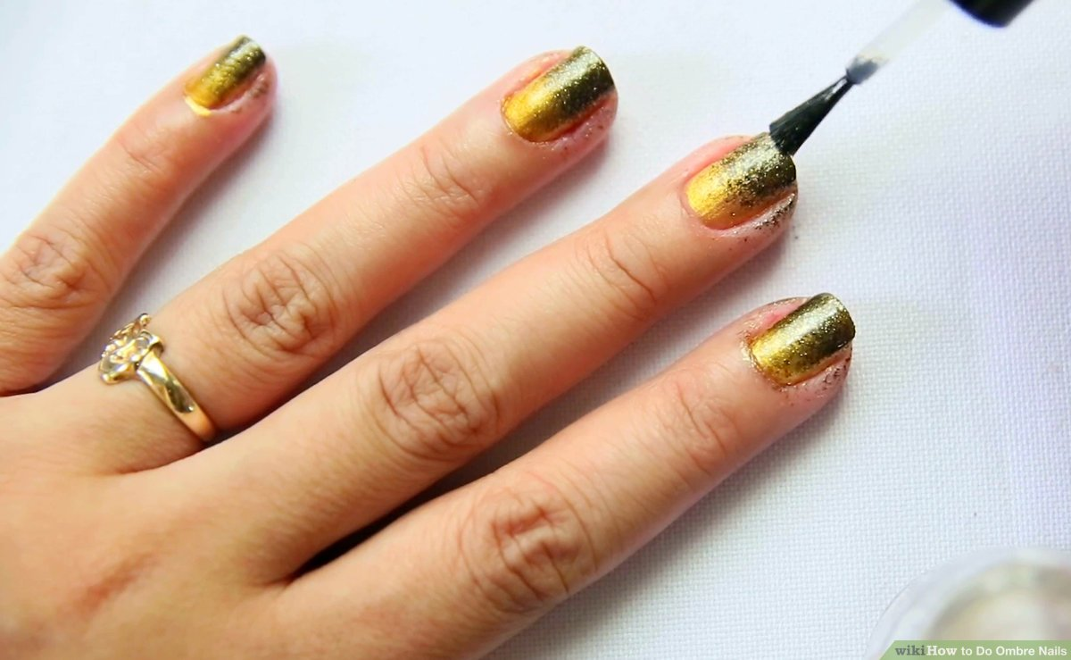 How To Do Ombre Nails 15 Steps With Pictures Wikihow