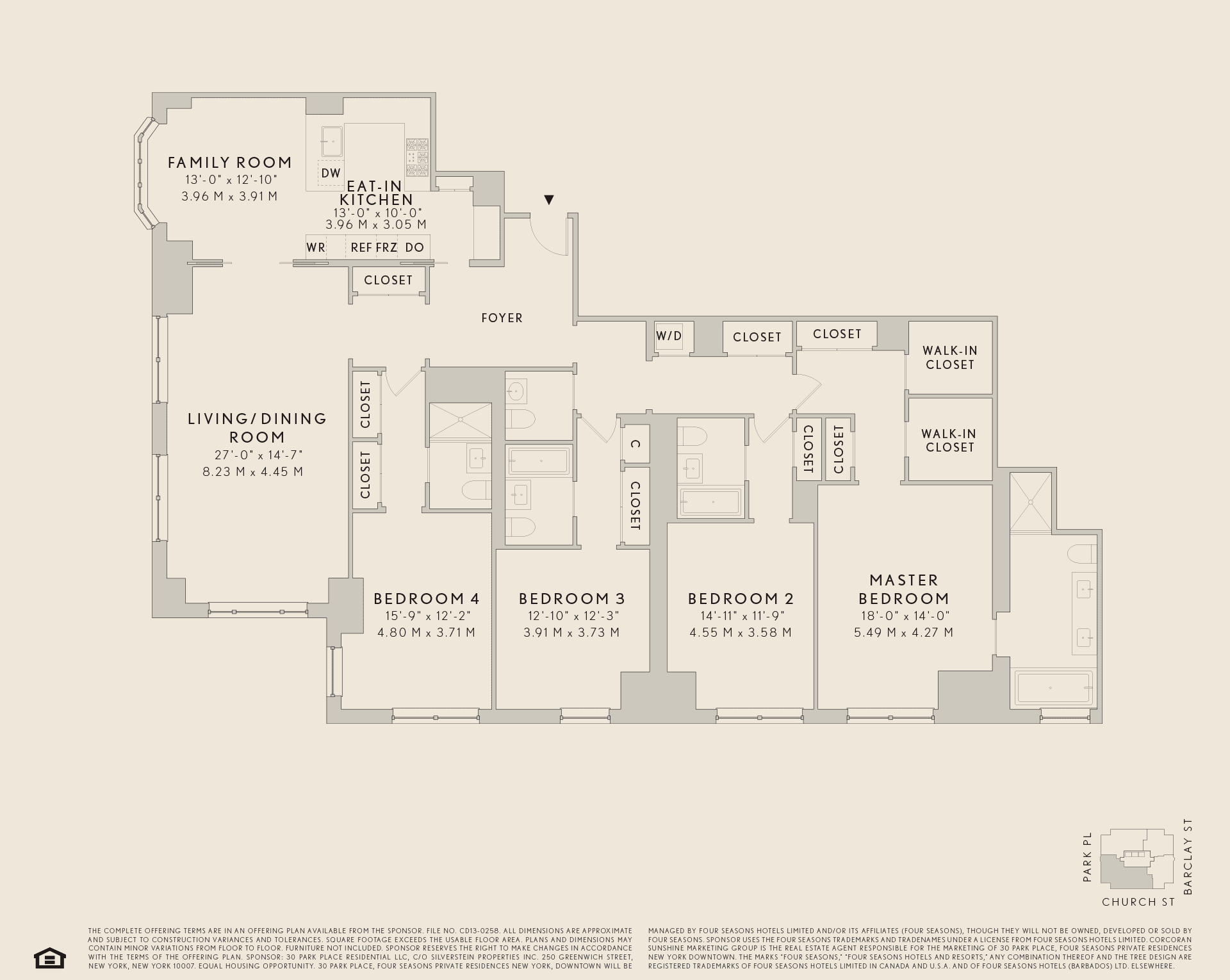 54a Hotel Services Floor Plans Residences