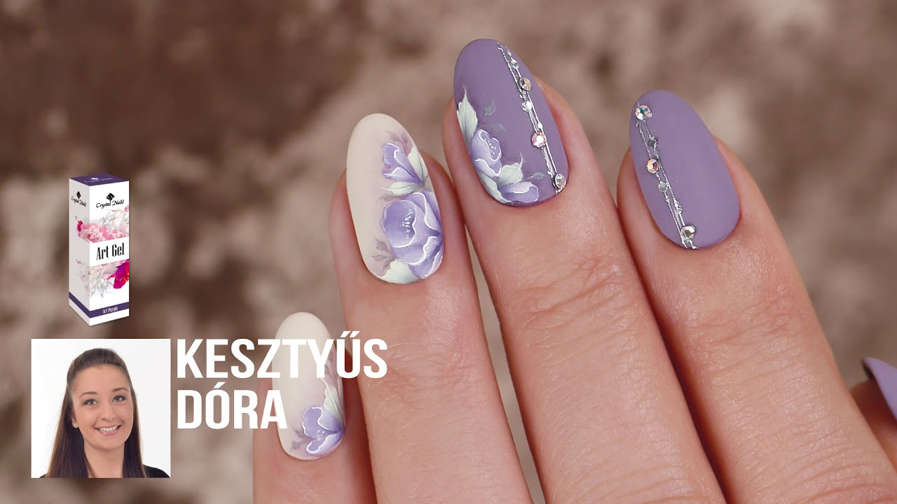 Crystal Nails Koromhajo 2018 Oszi Teli Szezon Ujdonsagai Youtube
