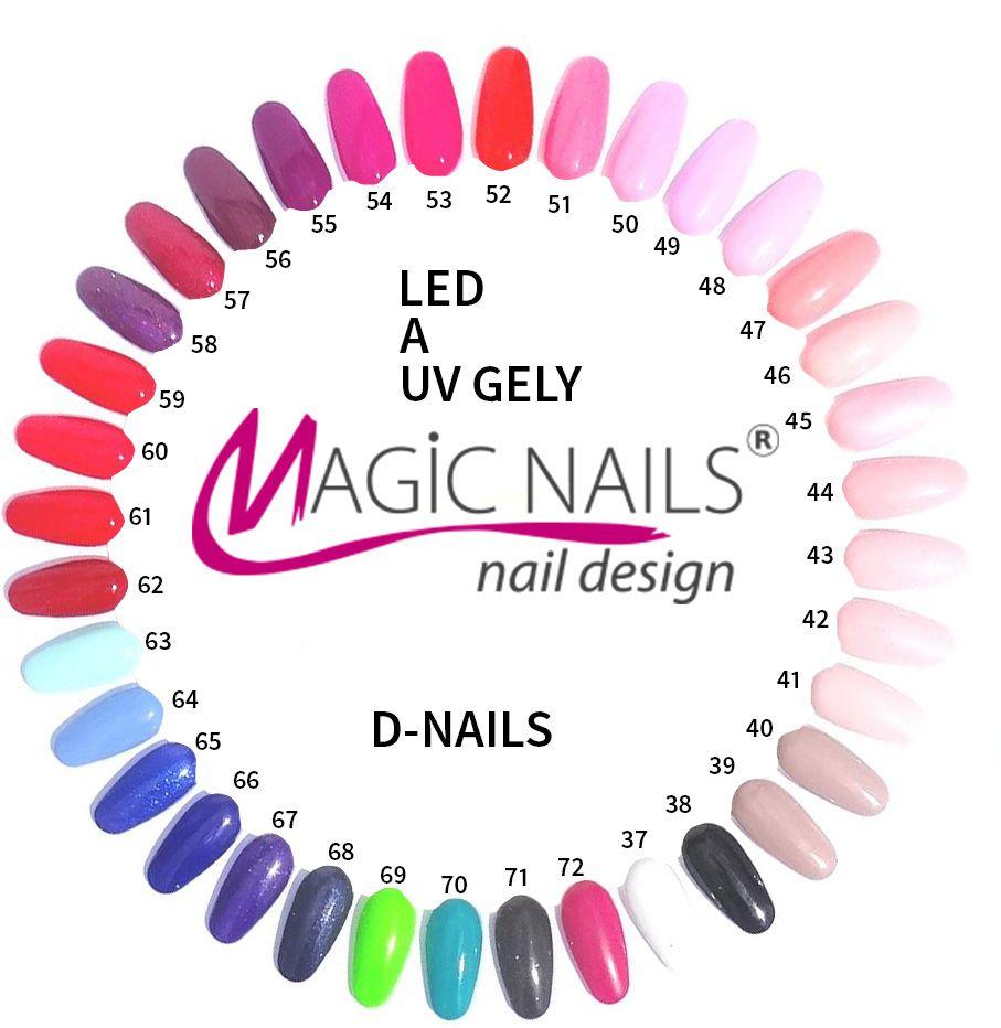 Barevny Led Gel A Uv Gel 056 5ml Magic Nails Gelove Nehty Gelove Nehty Nehty Barvy