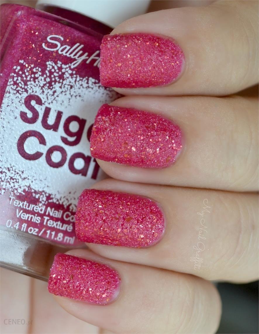 Sally Hansen Lakier Sugar Coat Nr 230 Pink Sprinkle Opinie I Ceny Na Ceneo Pl