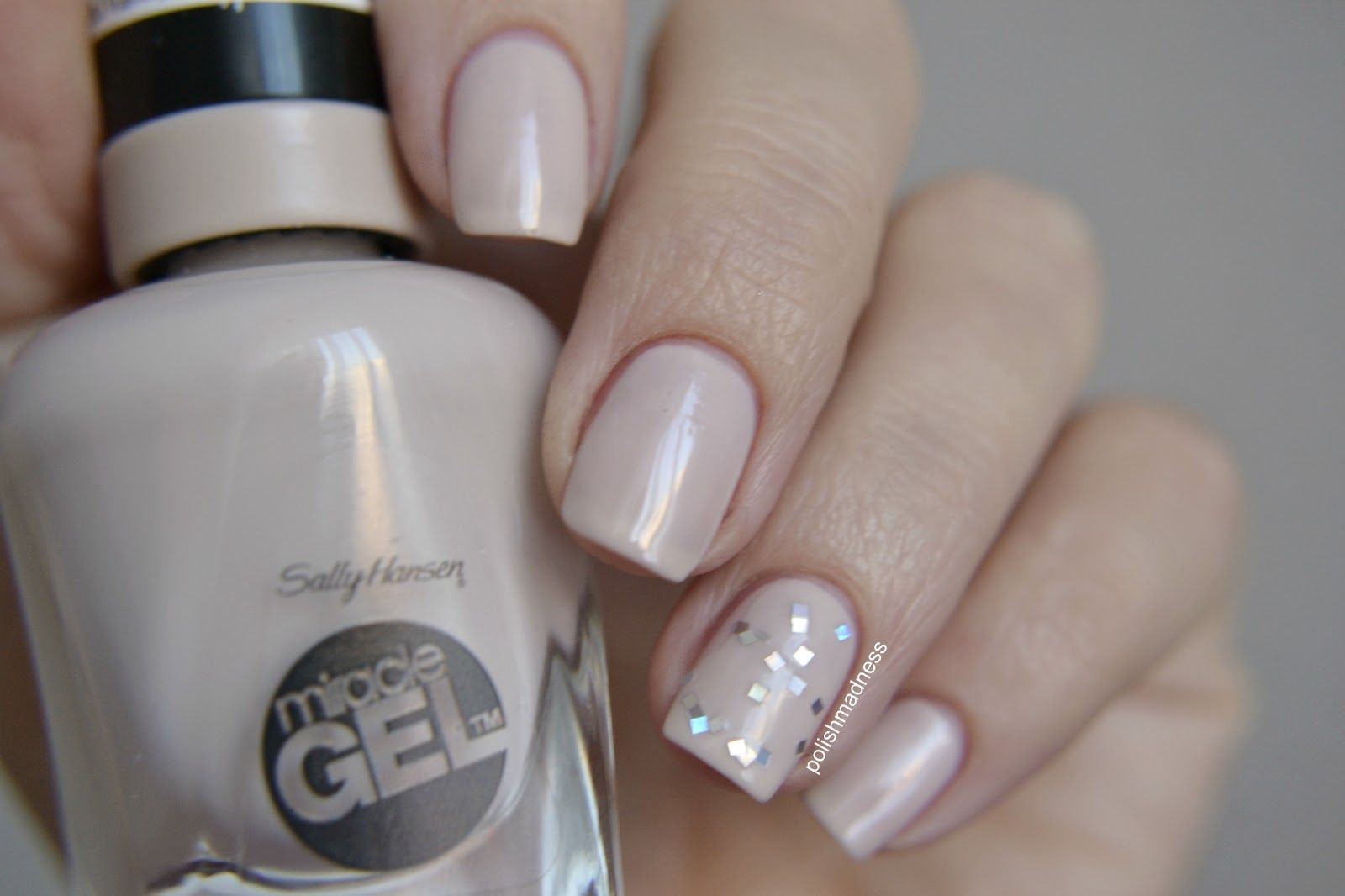 Birthday Suit Sally Hansen Gel Nail And Manicure Trends