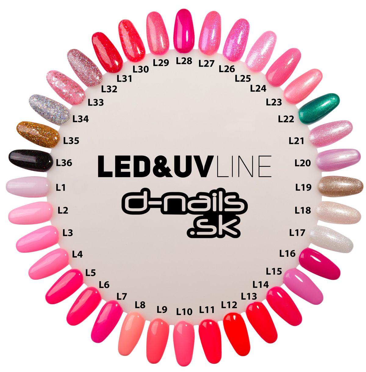 Barevny Led Gel A Uv Gel 006 5ml Magic Nails Gelove Nehty Gelove Nehty Nehty Lak