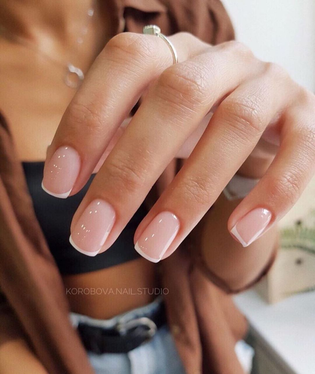 Nailstyle Yes Or No French Manicure Nails Gelove Nehty Nehet A Design Nehtu