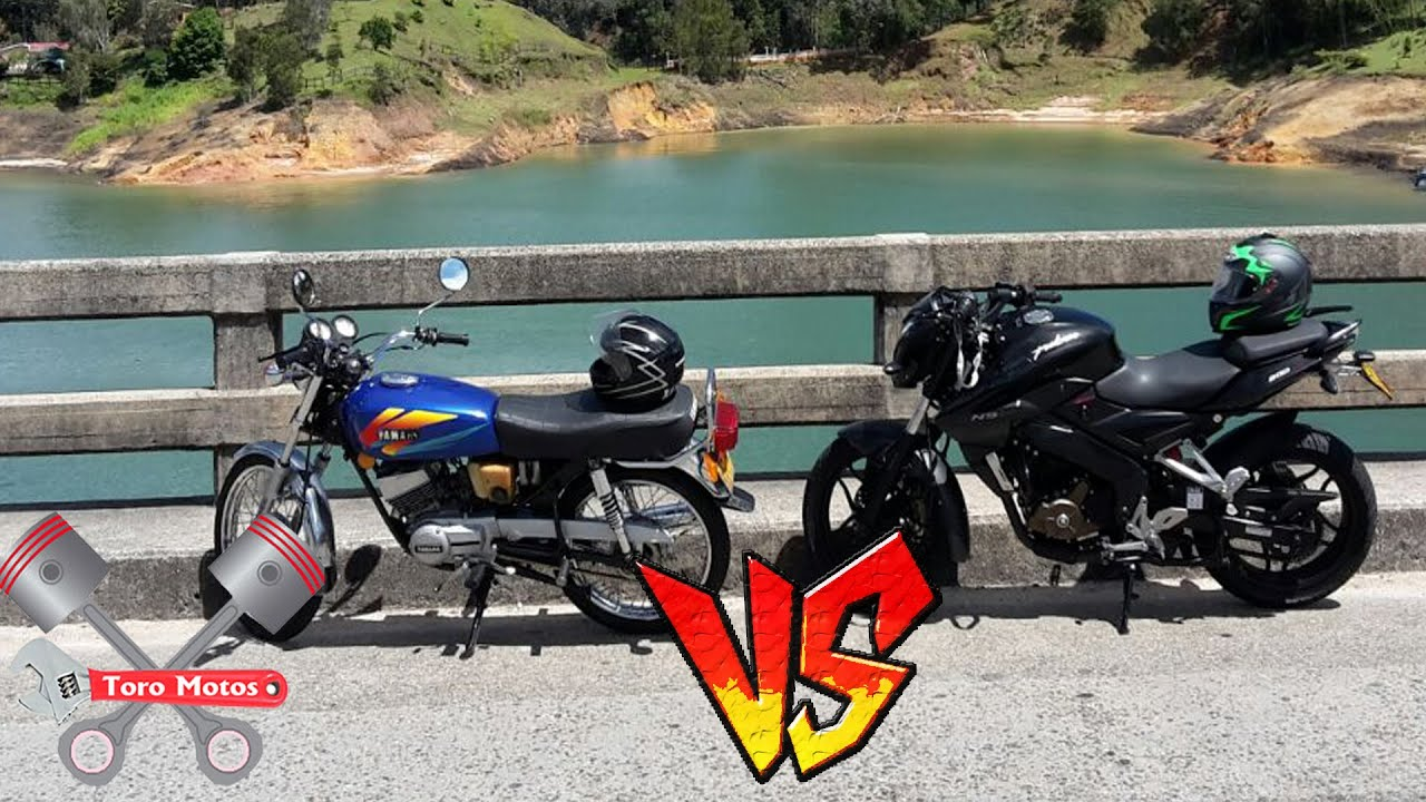 Yamaha Rx Modificada En 135 Vs Pulsar 200 Ns Toromotos Youtube