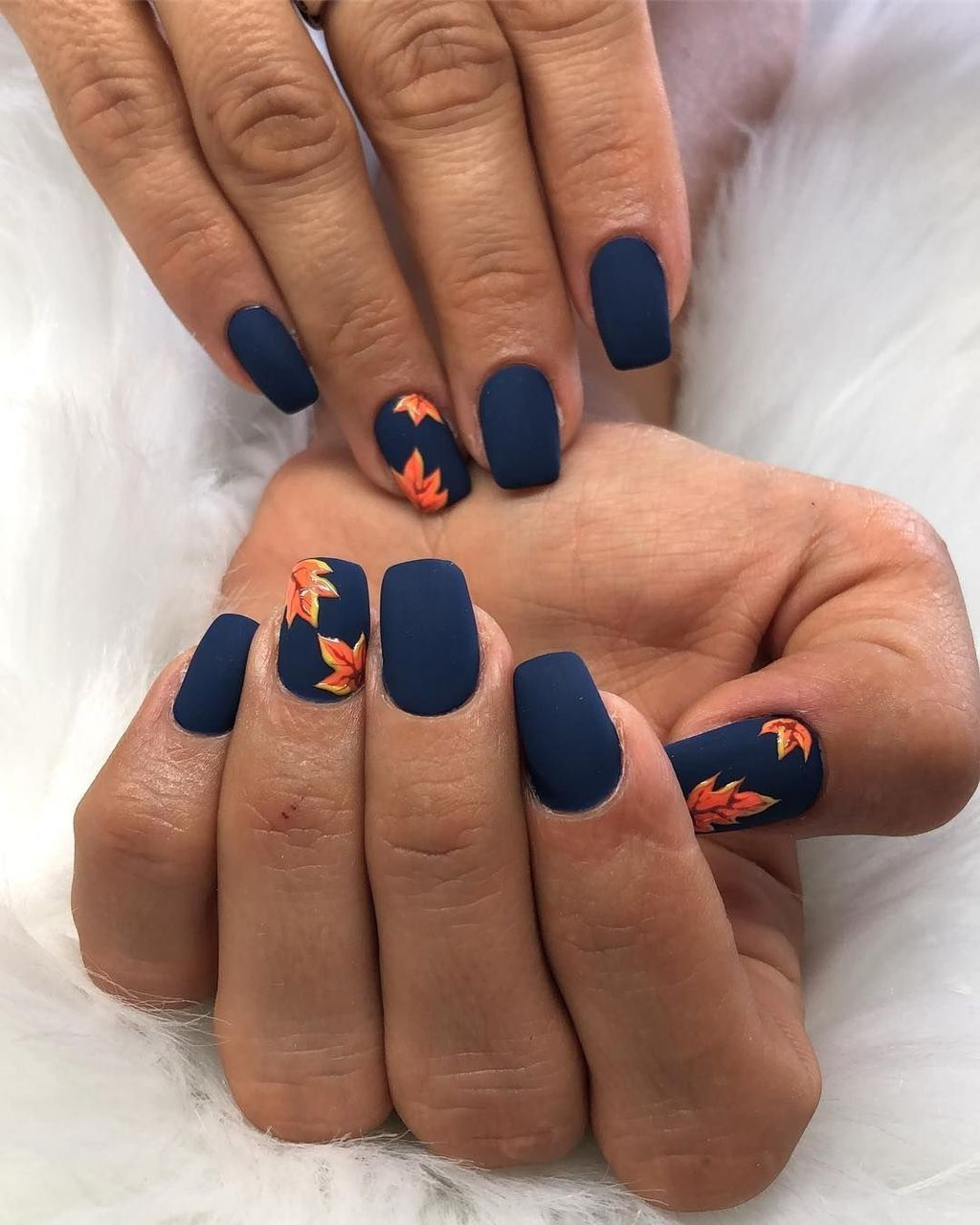 42 Outstanding Fall Nails Designs Ideas That Make You Want To Copy Gelove Nehty Design Nehtu Nehet