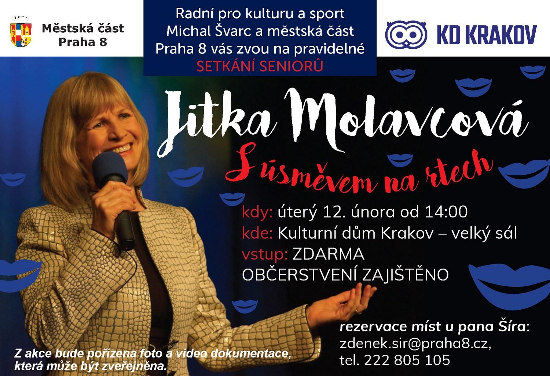 Mc Praha 8 Kalendar Akci Jitka Molavcova S Usmevem Na Rtech Kd Krakov
