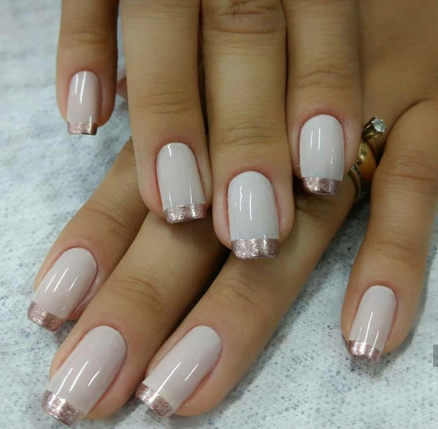 Pin By Dana On Nails Manicure French Nails Fun Nails