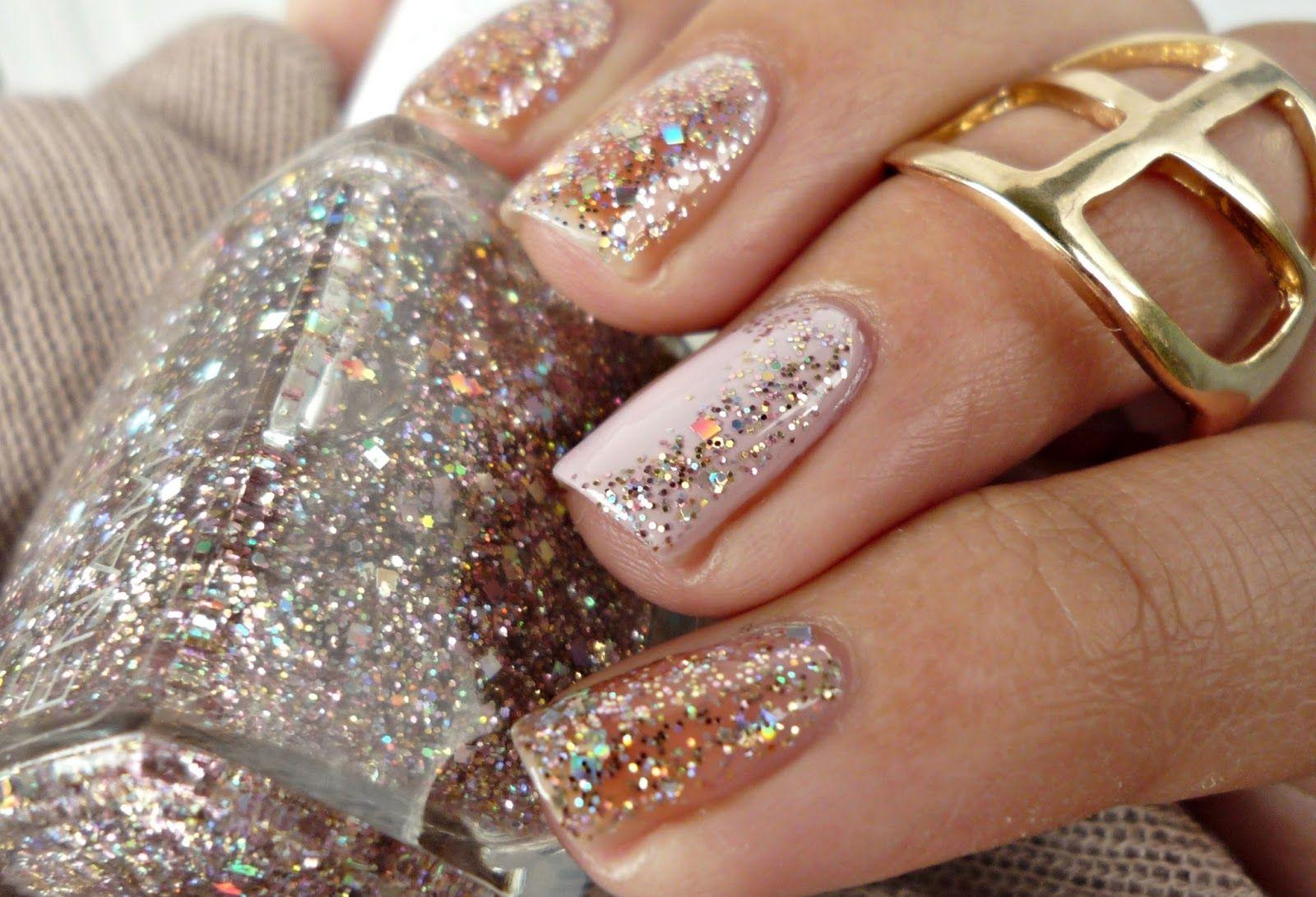 Gabriella Salvete Glitter Enamel 05 Di Miele Nehet Pastelove Nehty Manikura