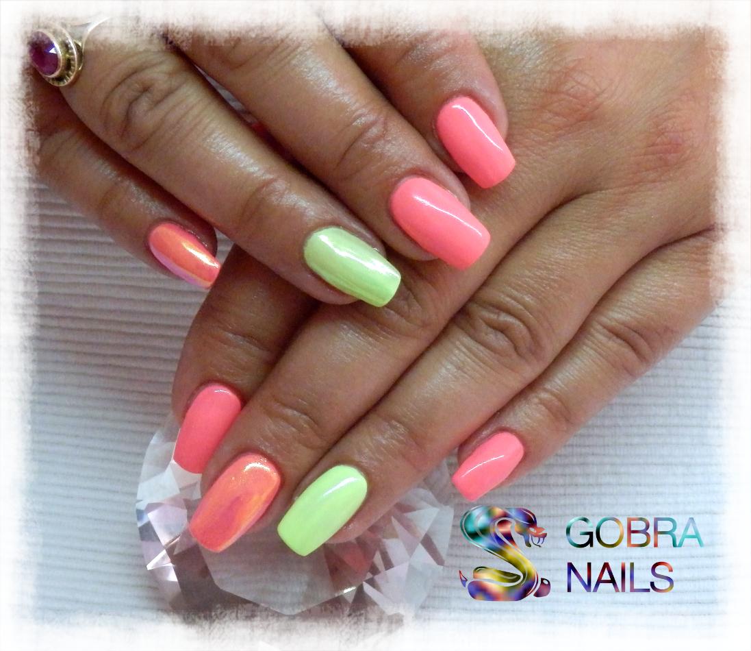 Luxury Line Art Color Neon Losos 5 Ml Gobra Nails