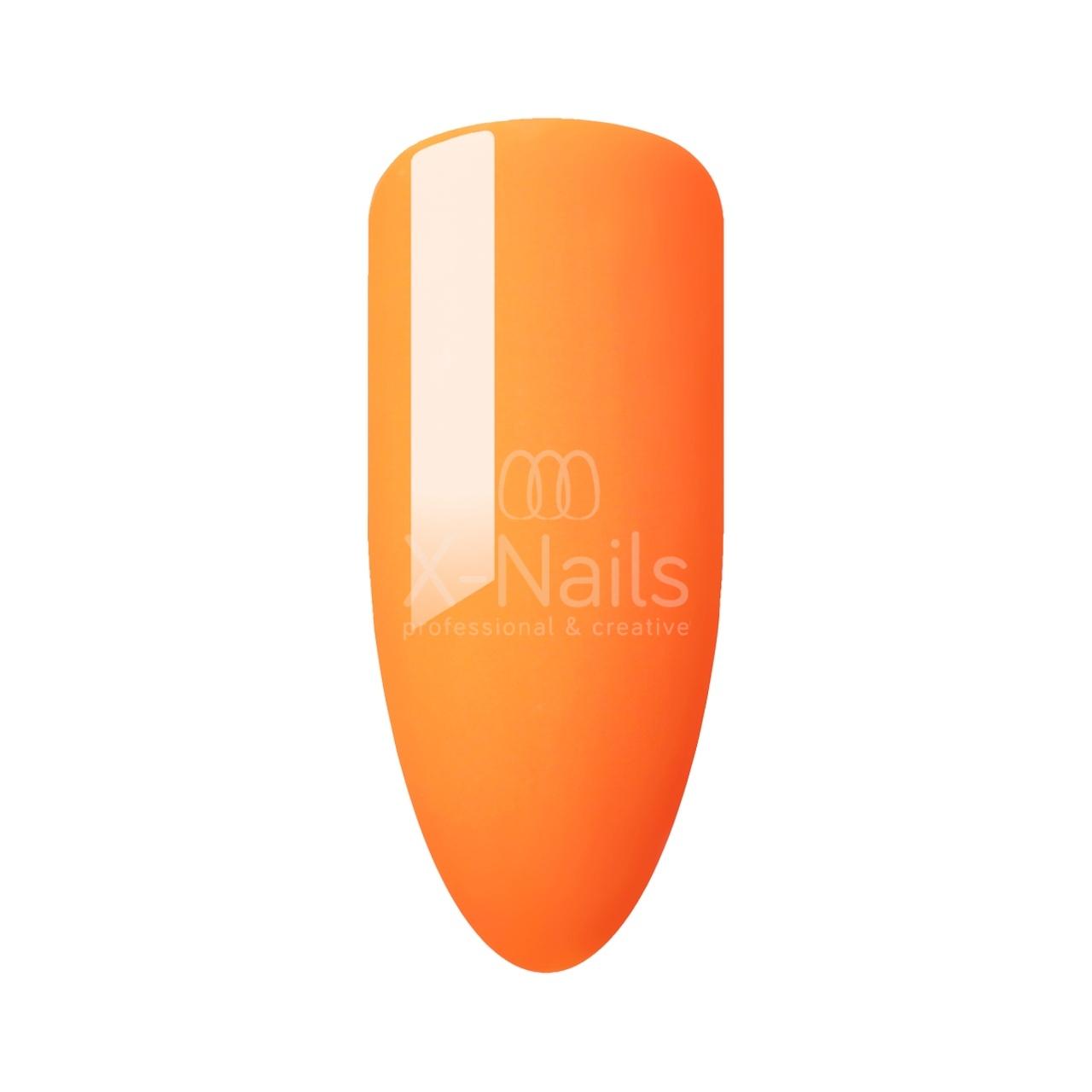 Gel Lak Color Line 15 Ml Neon Orange X Nails