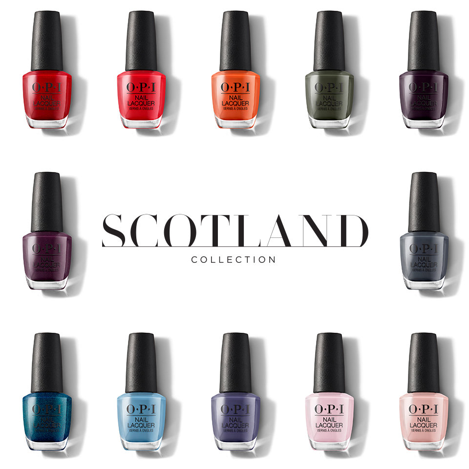 Red Heads Ahead Nail Lacquer Opi
