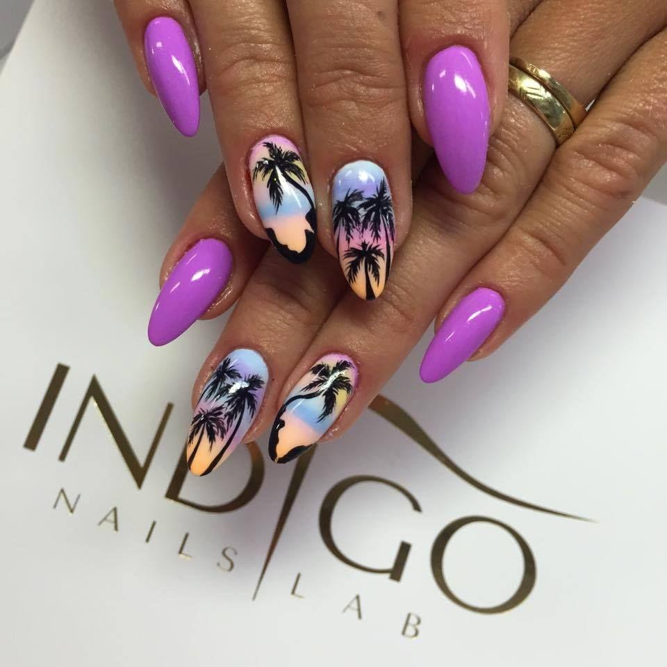 By Indigo Educator Magdalena Zuk Follow Us On Pinterest Find More Palm Tree Nails Tree Nails