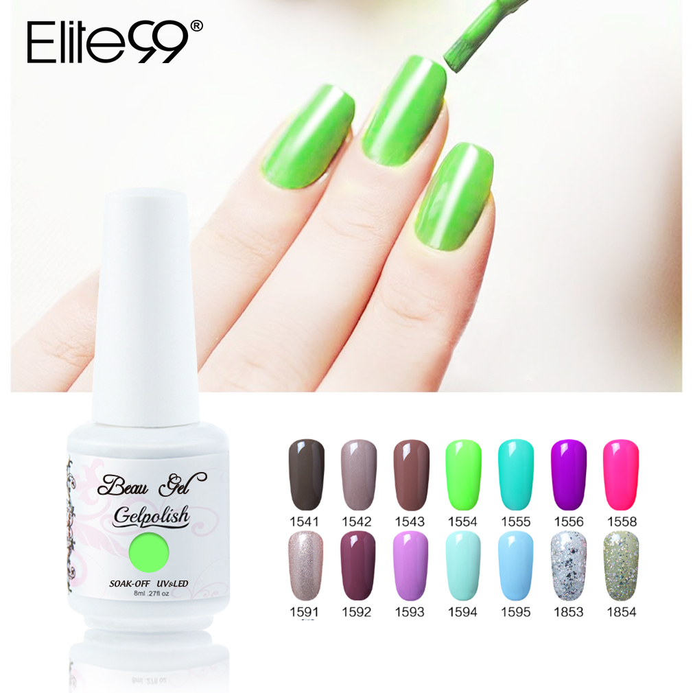 Top 10 Largest Uv Nail Gel Polish 1 8 Colors Ideas And Get Free Shipping Cjlek4ml