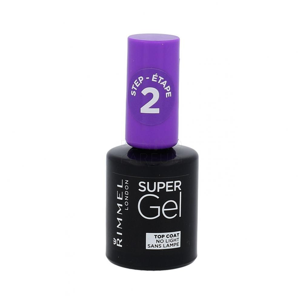 Rimmel London Super Gel Top Coat Lakier Do Paznokci Dla Kobiet 12 Ml Elnino Parfum