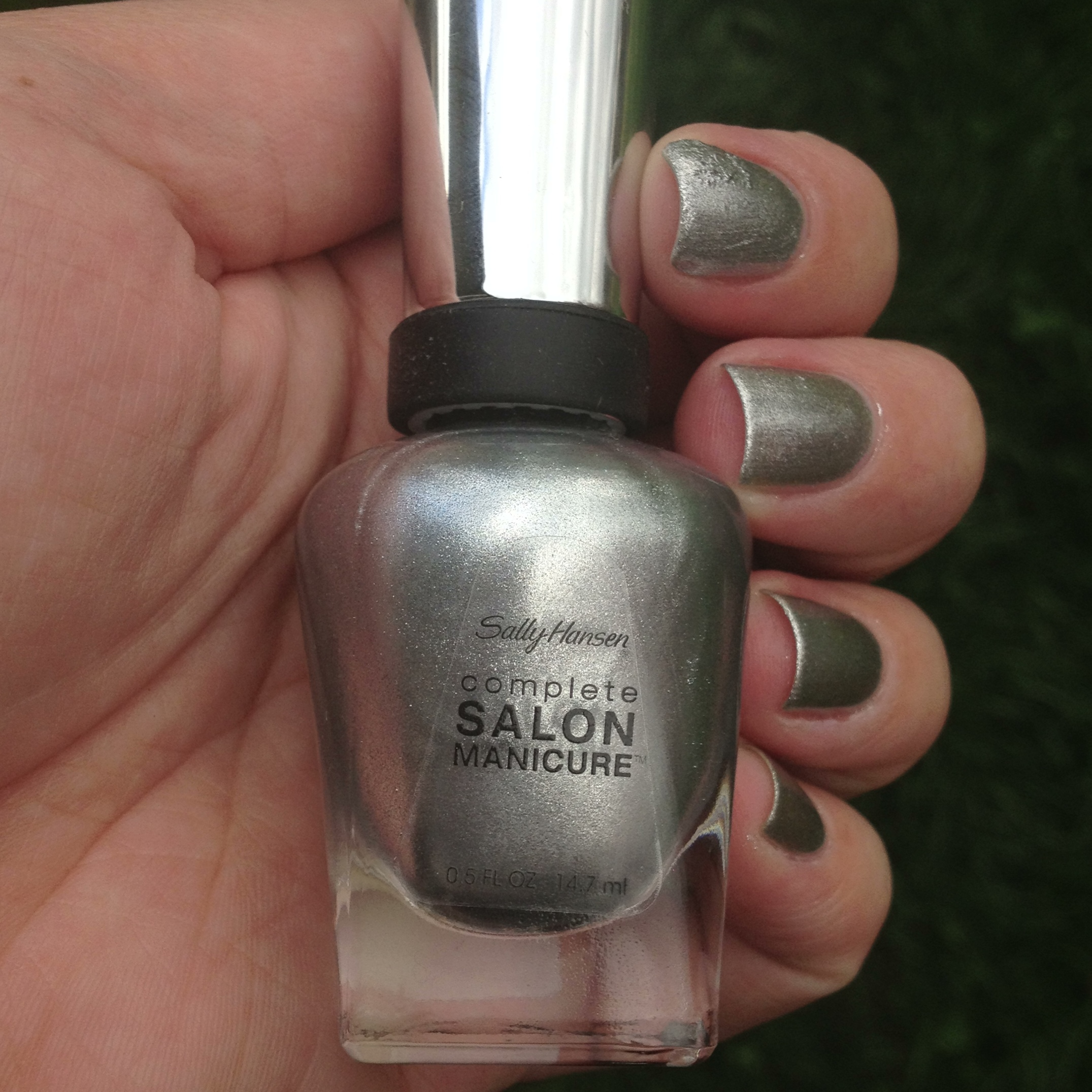 Sally Hansen Complete Salon Manicure Hi Ho Silver Gilty Party Polish Me Please