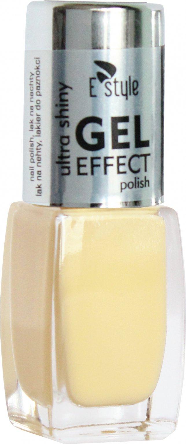 E Style Gel Effect Gelovy Lak Na Nehty 10 Ml 06 Vanilla Zbozi Cz