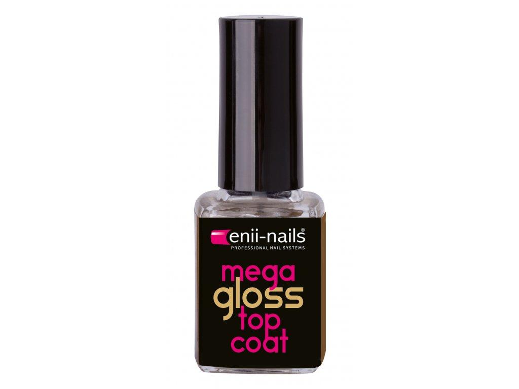 Mega Gloss Vrchni Lak S Vysokym Leskem Enii Nails