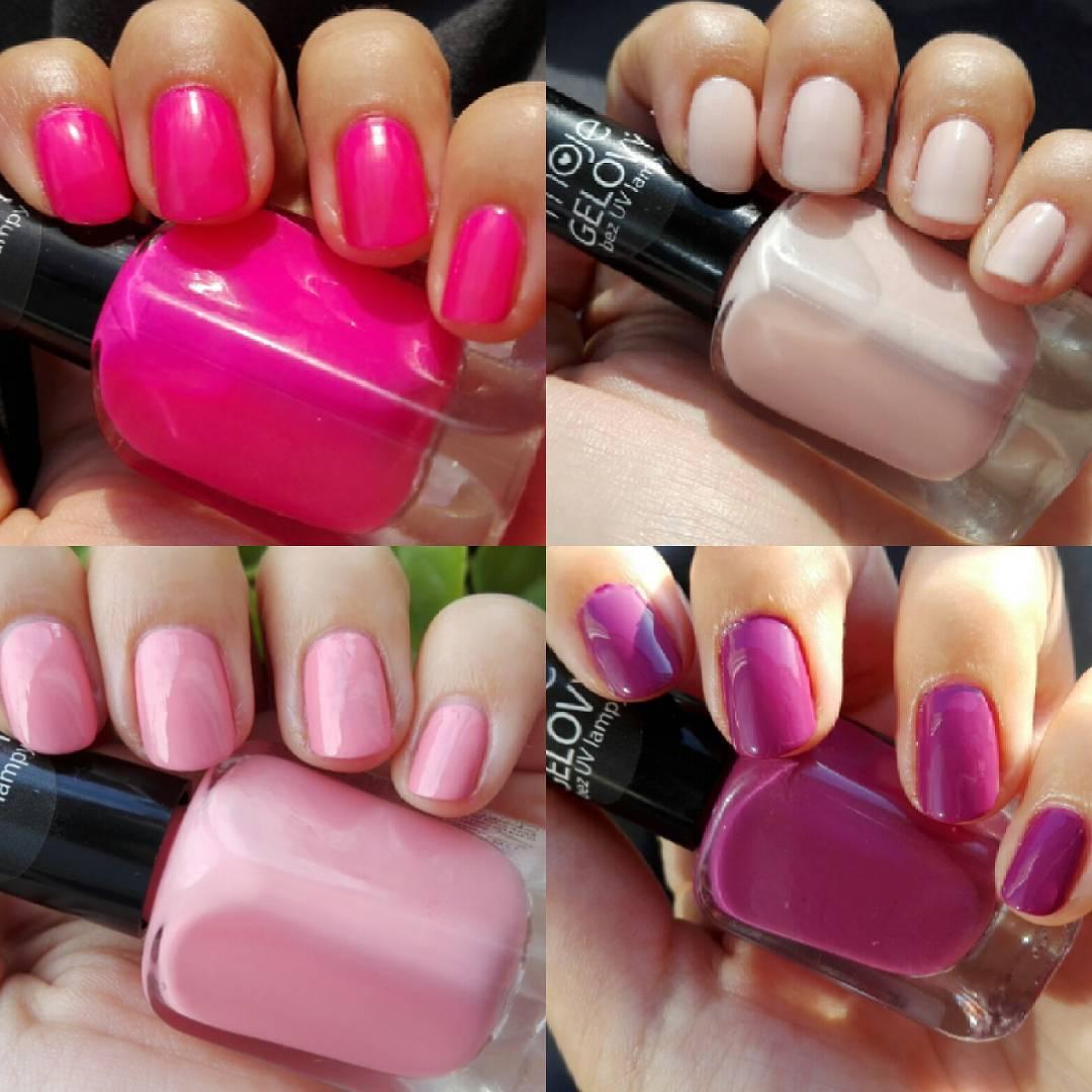 Beauty By K Kosmetika Moje Gel Laky Odstiny 01 02 08 09